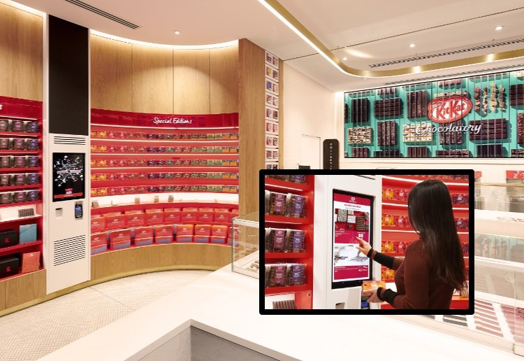 Design Your Own KitKat In New KitKat Chocolatory Boutique Store In Sydney