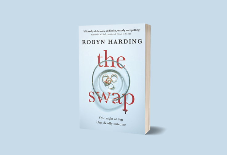 A picture of the cover of The Swap by Robyn Harding