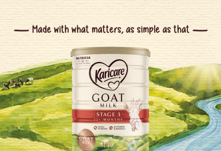 Image of Karicare Toddler Goats' Milk 12+ Months tin for the Karicare Toddler Goats' Milk 12+ Months reviewreview