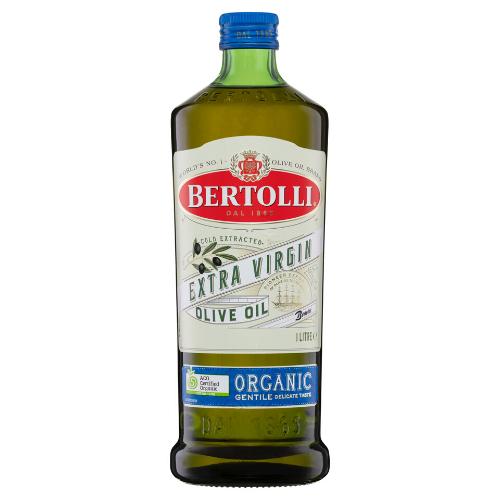 Image of Bertolli Organic Extra Virgin Olive Oil Gentile 1L