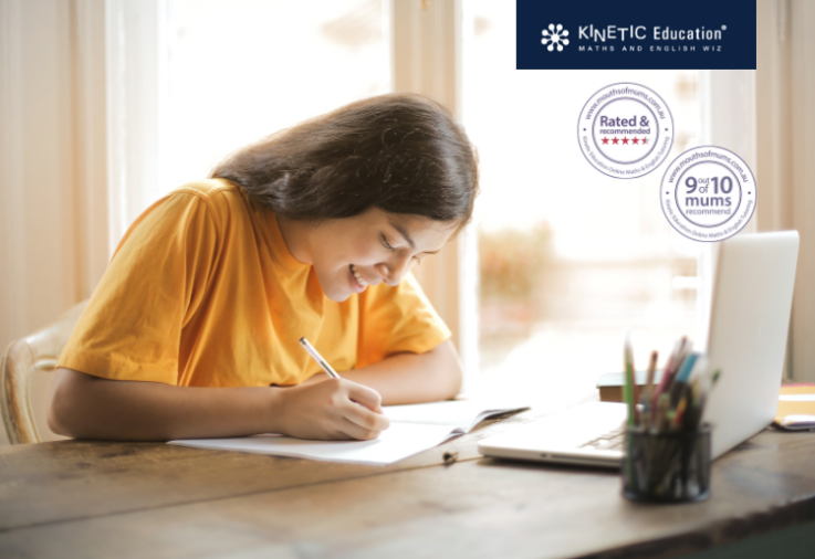 Image of Kinetic Education Review with star rating and moms recommend claim