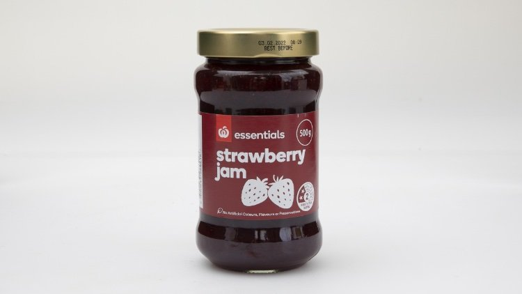 woolworths strawberry jam