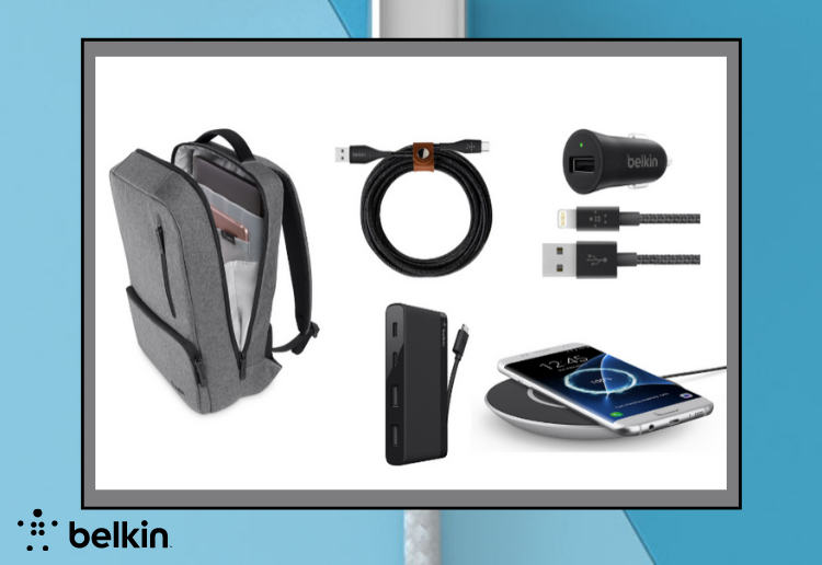 WIN The Ultimate Tech Pack From Belkin