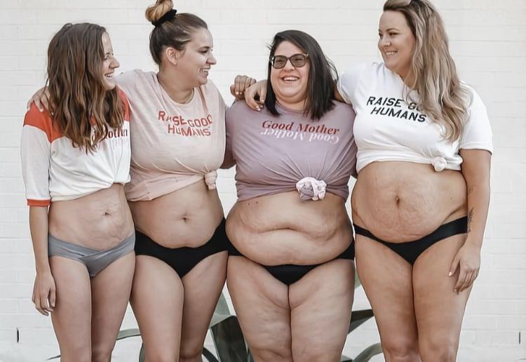 Proud Mums Celebrate Their Post Birth Bodies