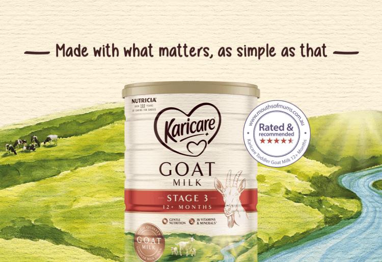 Karicare Toddler Goat Milk 12+ Months New Zealand Mums