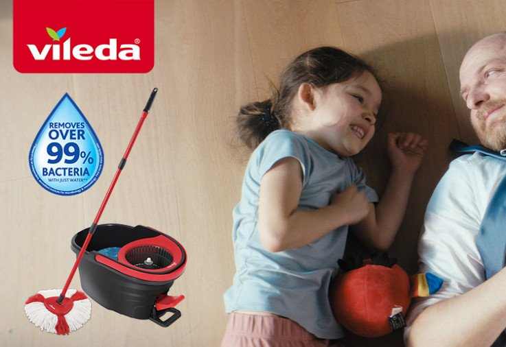 Vileda Easy Wring and Clean Turbo Mop review