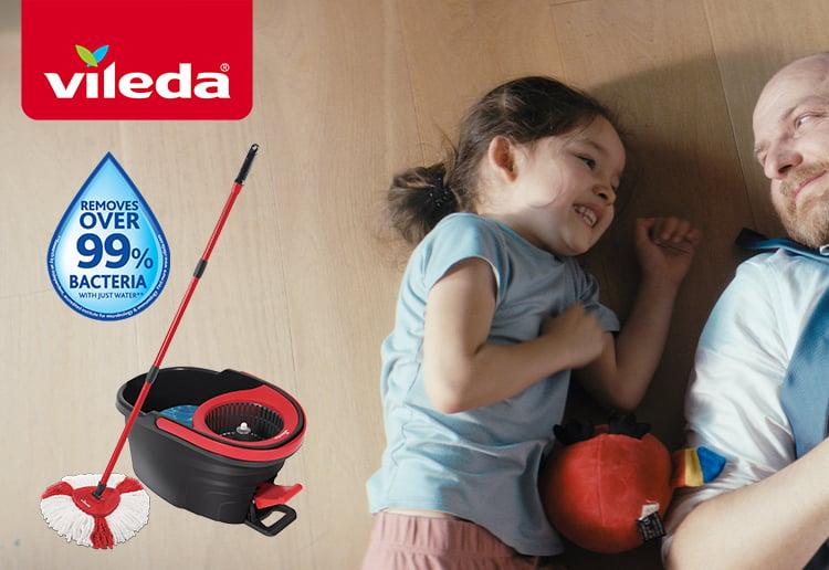 Vileda Easy Wring and Clean Turbo Mop