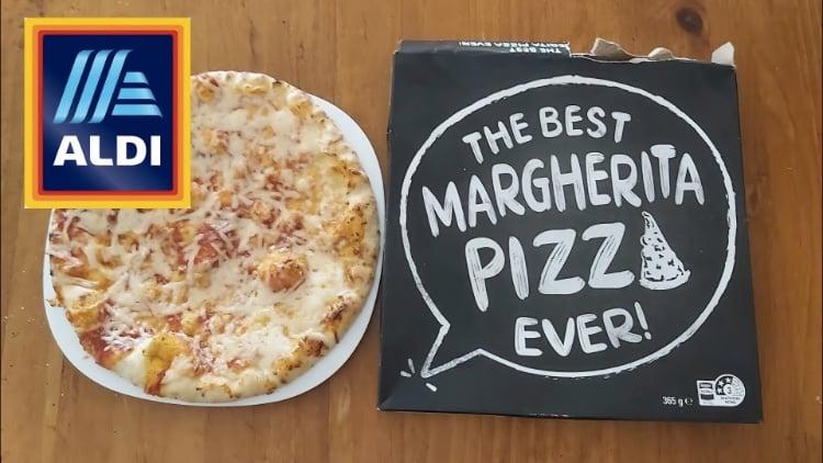 best margherita pizza aldi