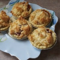 Jam And Coconut Tarts
