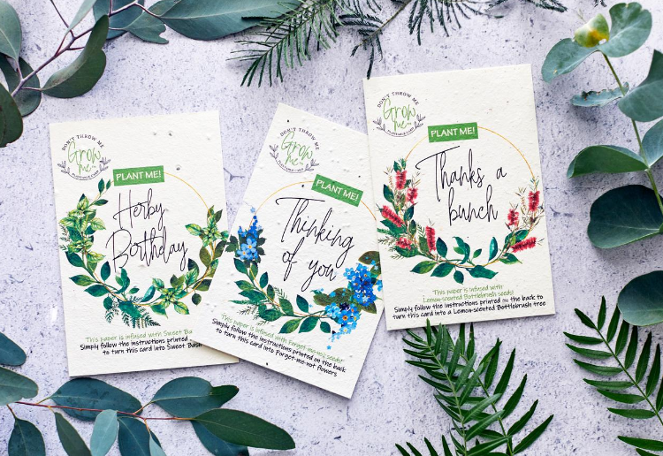 WIN 1 of 40 Plantable Cards By Plantacard!