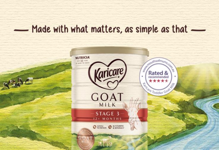 Image of Karicare Toddler Karicare Goat Milk 12+ Months review image with star rating dinkus