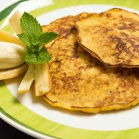 2-Ingredient Banana and Egg Pancakes Recipe
