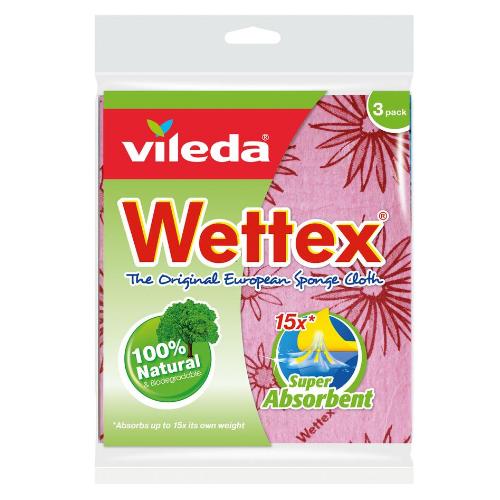 Image of Vileda Wettex The Original European Classic Sponge Cloth 3PK