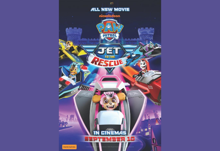 WIN 1 of 5 Family Passes to check out PAW PATROL: JET TO THE RESCUE