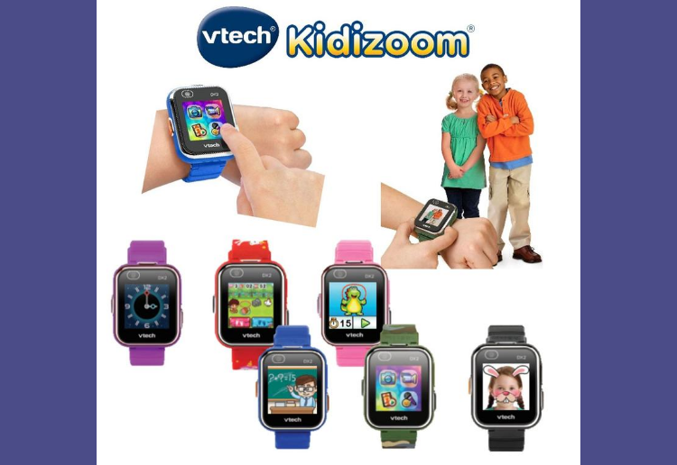 WIN 1 of 6 Kidizoom Smart Watches from VTech