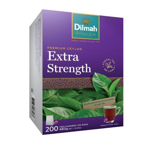 Image of Dilmah Extra Strength Tea Bags 200s
