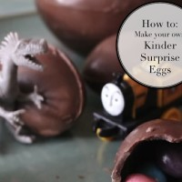 How To Make Your Own Kinder Surprise Eggs