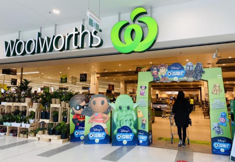 woolworths disney+ ooshies