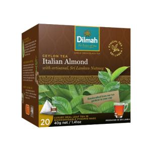 Image of Dilmah REAL LEAF Tea Bags Italian Almond