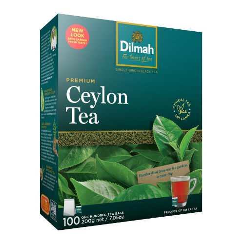 Image of Dilmah REAL LEAF Tea Bags Fragrant Jasmine Green Tea