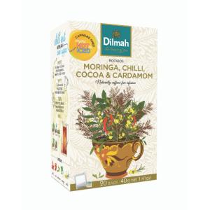Image of Dilmah Rooibos Moringa, Chilli, Cocoa & Cardamom Infusions Tea Bags