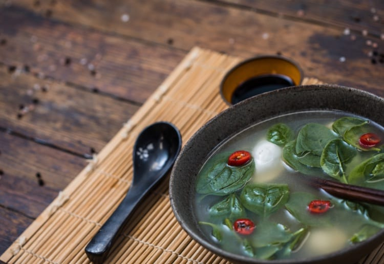 Speedy Vegetable And Dumpling Soup