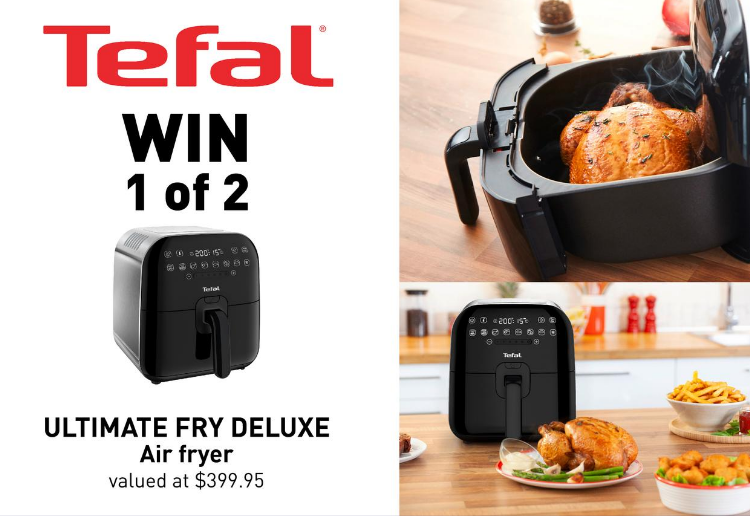 WIN 1 of 2 Tefal Ultimate Fry Deluxe Air Fryers