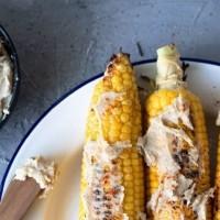 BBQ Corn with Tahini Butter