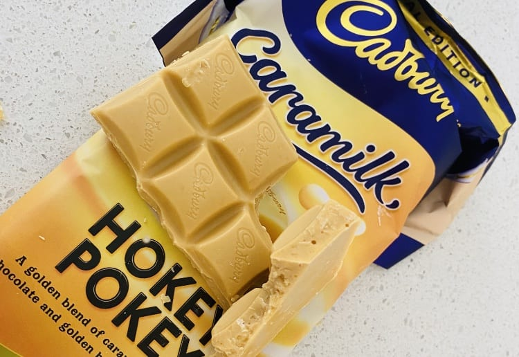 Caramilk Hokey Pokey Secretly Lands In Australia And We Give It A Taste Test