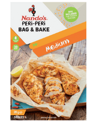 image of nando's peri-peri bag & bake medium for the nando's peri-peri bag & bake review