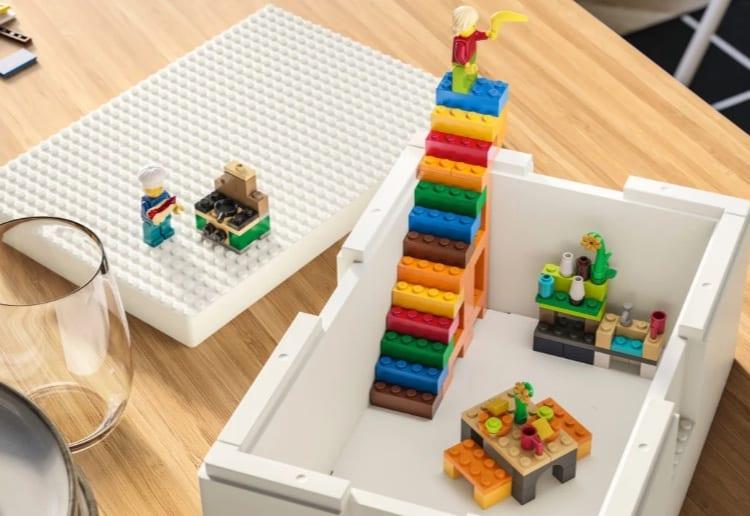 ikea lego storage solution