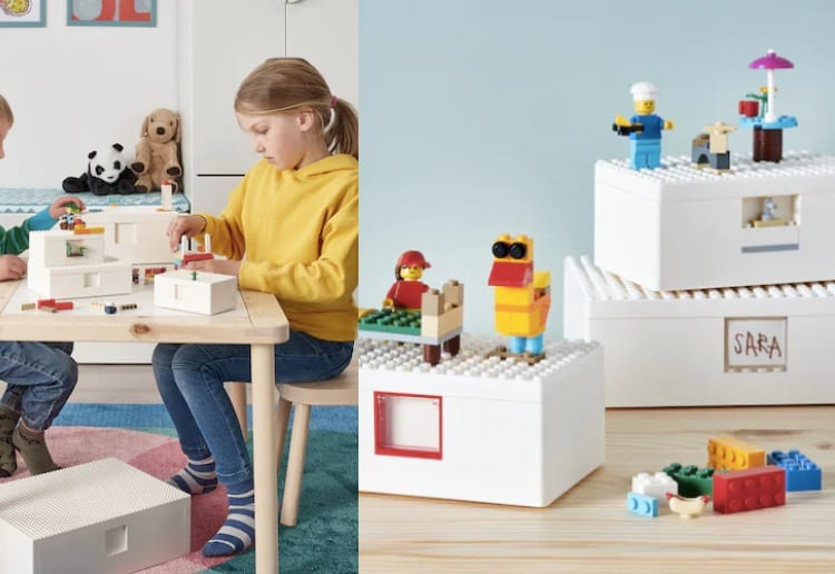 We're Going Crazy Over Ikea's New LEGO Storage Solution