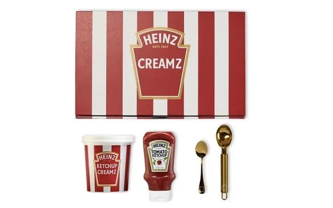 heinz ketchup ice-cream