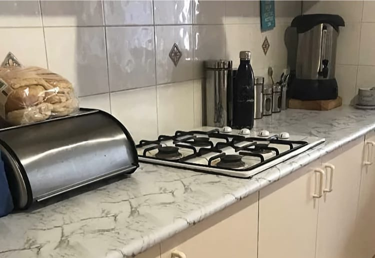 The Serious Dangers Of Using The Kmart Vinyl Hack In Your Kitchen