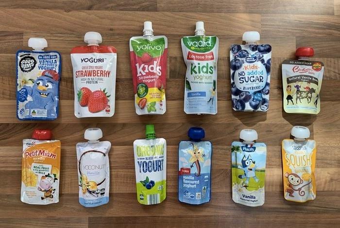 yoghurt pouch