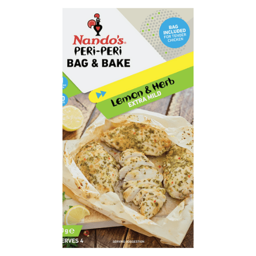 Image of Nando's Lemon & Herb Bag & Bake