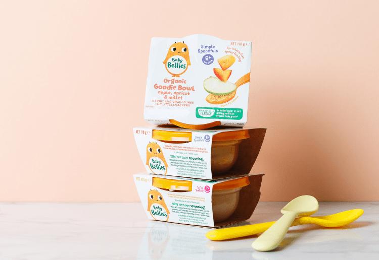 Little Bellies Organic Baby Bowls