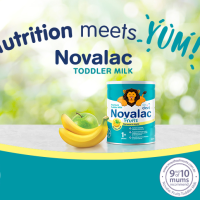 image of novalac fruits toddler milk review image with star rating and mums recommend dinkus