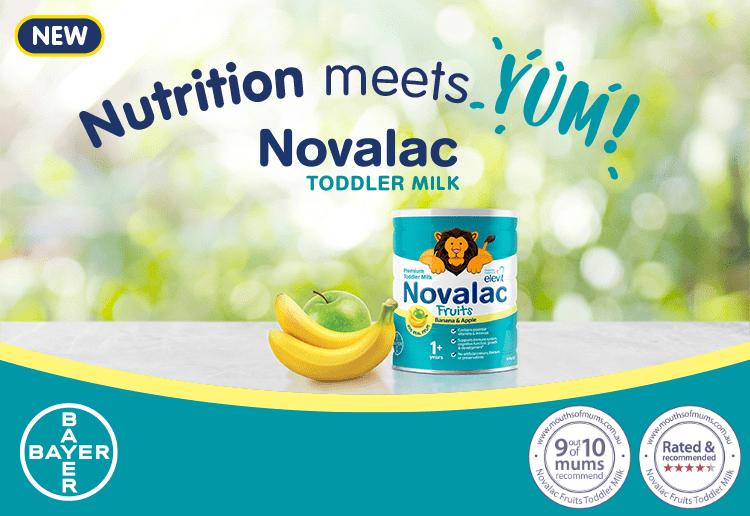 Novalac Fruits Toddler Milk
