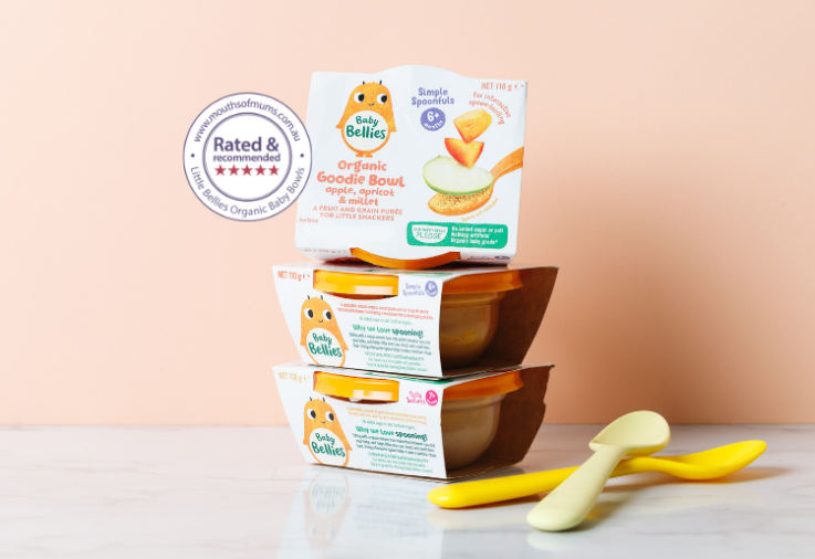 Image of Little Bellies Organic Baby Bowls Review with star rating dinkus