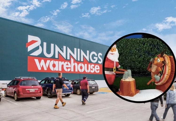 Ridiculous! Bunnings Axes 'Inappropriate' Christmas Decoration