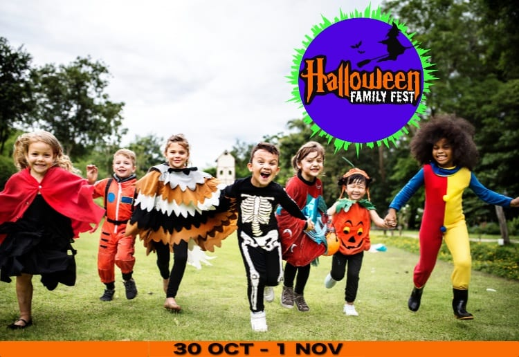 Win Spooky Fun Family Passes To The Halloween Family Fest
