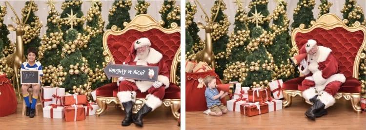 covid-safe santa photos