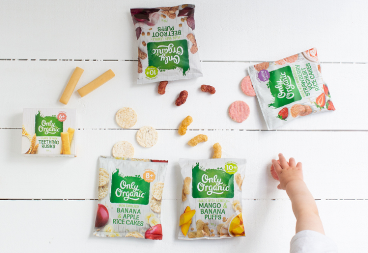 image of only organic snacks for the only organic review