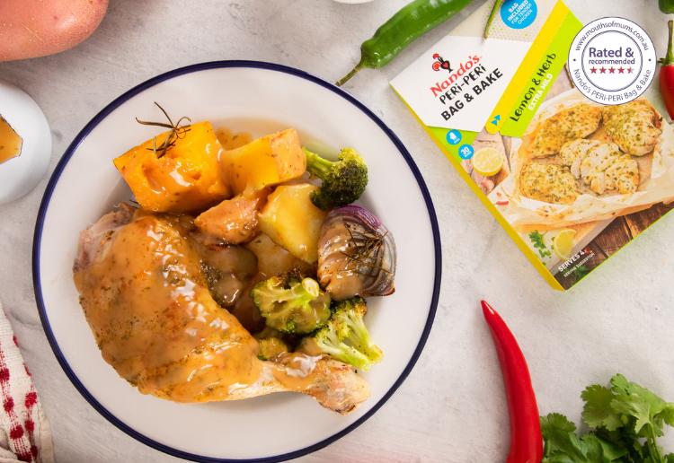 Roast Chicken Dinner in a Bag!
