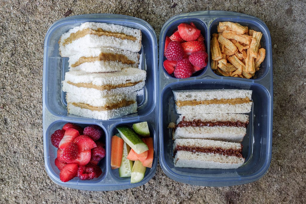 VGood Spread Review Lifestyle Image of school lunchbox