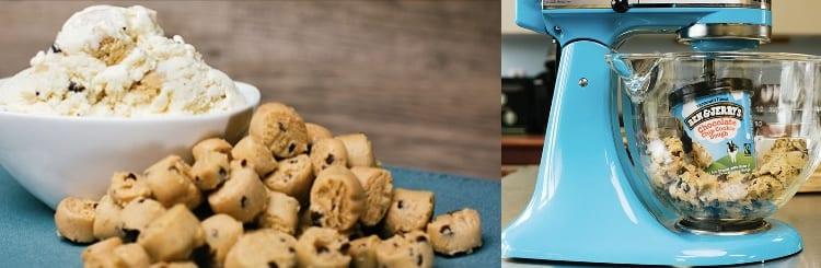 ben and jerry's cookie dough ice-cream