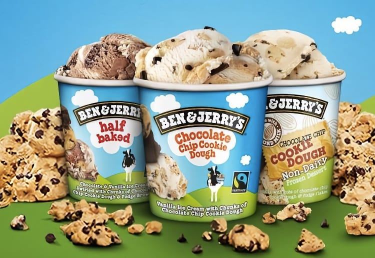 Grab Your FREE Scoop Of Ben & Jerry's Cookie Dough Ice-Cream