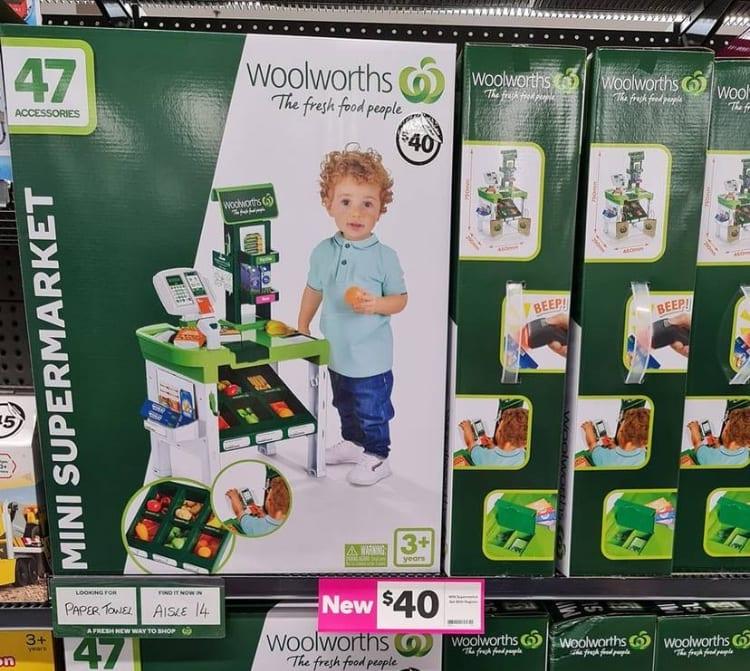 woolworths mini supermarket