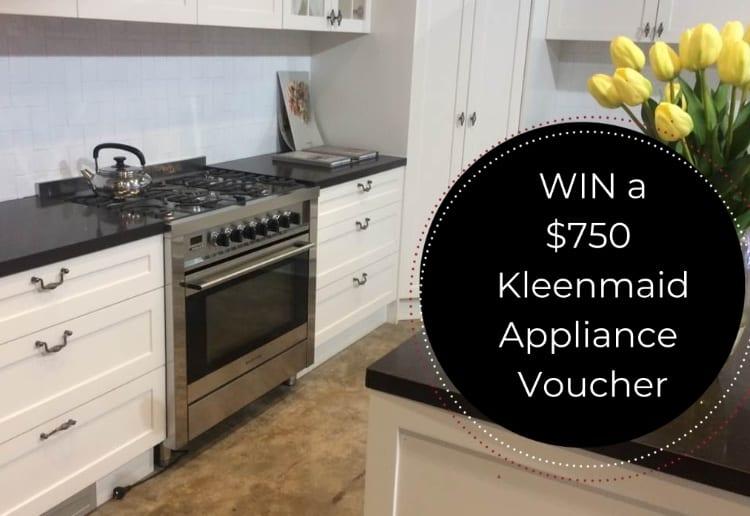 Win a $750 Kleenmaid Appliance Voucher In November